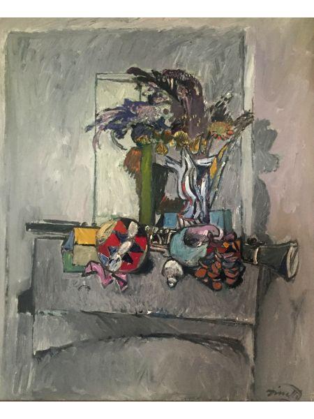 Natura Morta e Clarinetto - Lino Dinetto