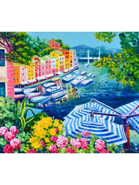 Un pomeriggio di luce a Portofino - Athos Faccincani