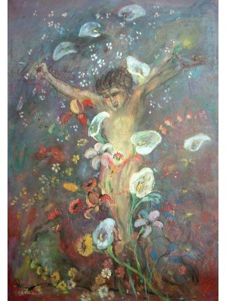 Cristo tra i Fiori - Bruno Donadel
