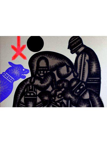 Torture nel mucchio - Concetto Pozzati