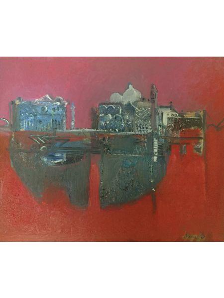 Venezia in rosso - Lino Dinetto
