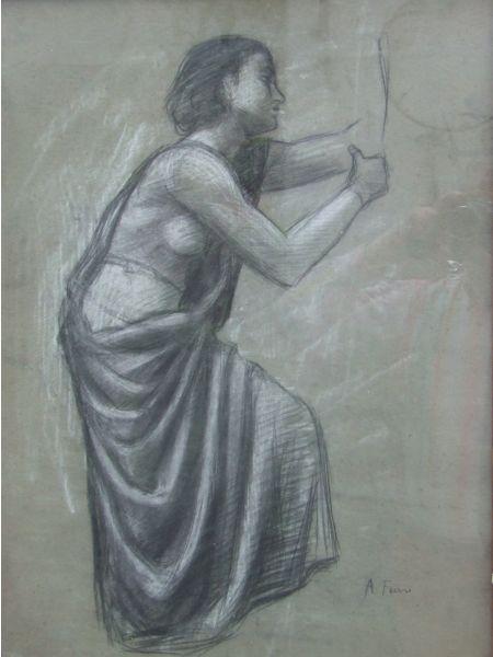 L'angelo - Achille Funi