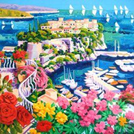Le rose rosse e tanta luce a Montecarlo - Athos Faccincani