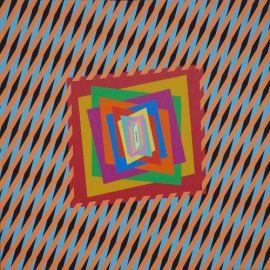 CROMATISM ENERGIES IN OPTICAL ART 60x60 - Ferruccio Gard