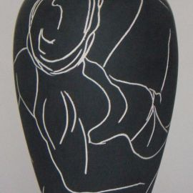 Terracotta Incisa e Smaltata n.1 - Oyrta