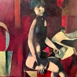 Figura in Rosso - Lino Dinetto