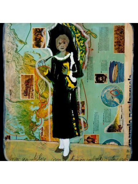 Signora con ombrellino - Walter Davanzo