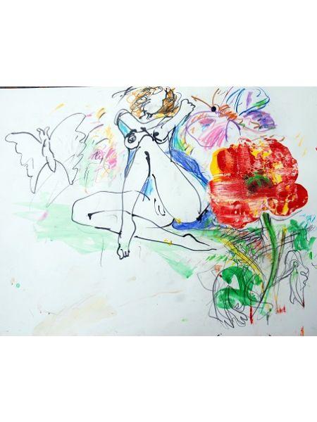 Papavero e Farfalle - Gianni Borta
