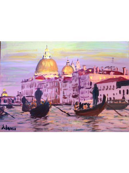 Gondole a Venezia - Mario Solazzo