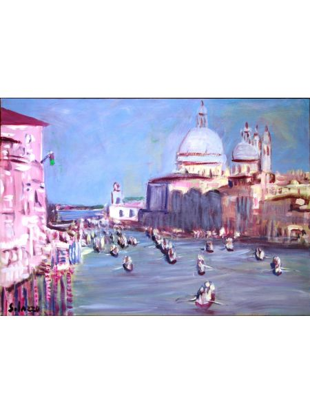 La regata a Venezia - Mario Solazzo