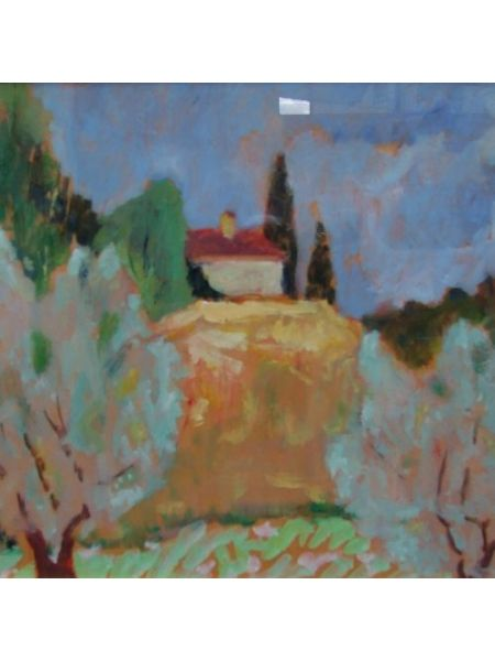 Paesaggio Toscano - Vincenzo Censotti