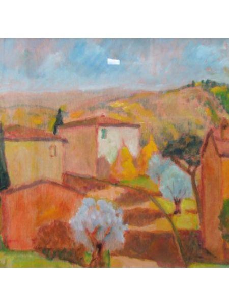 Paesaggio Toscano 28x38 - Vincenzo Censotti